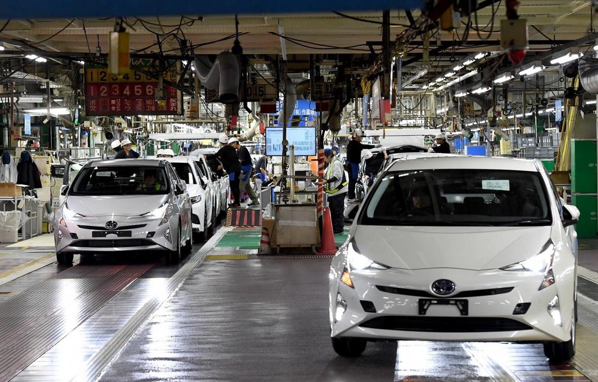 Một nhà máy sản xuất ôtô của Toyota. (Ảnh: AFP/TTXVN)