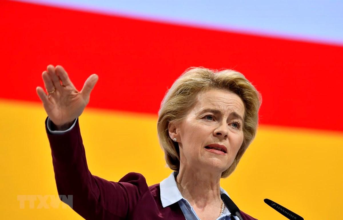Bộ trưởng Quốc phòng Đức Ursula von der Leyen. (Ảnh: AFP/TTXVN)