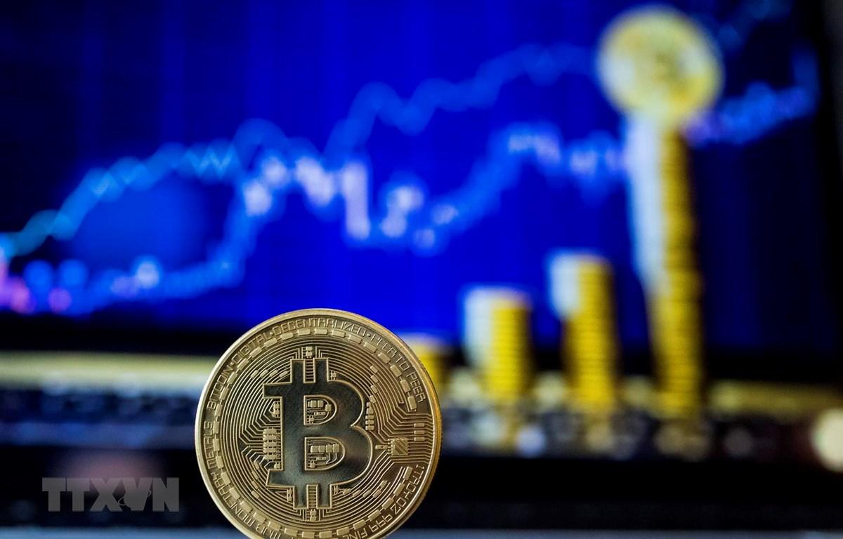 Đồng Bitcoin. (Ảnh: AFP/TTXVN)