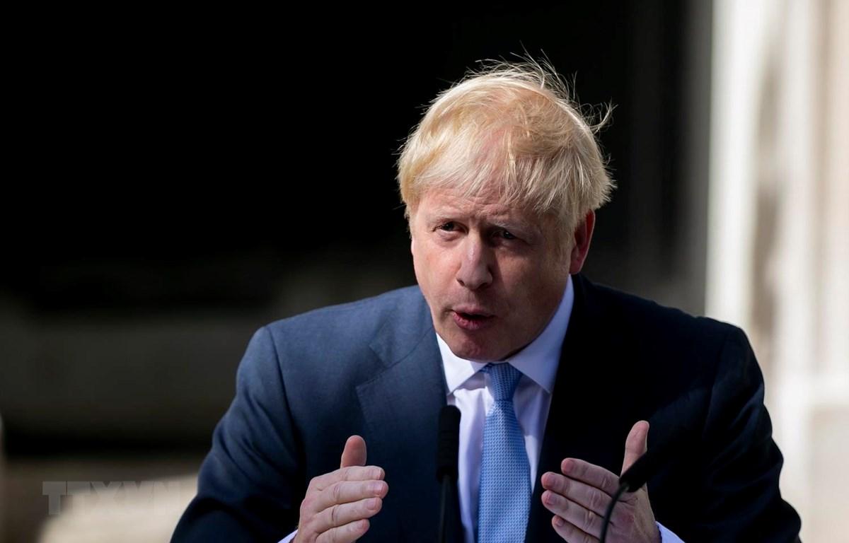 Tân Thủ tướng Anh Boris Johnson. (Ảnh: THX/TTXVN)