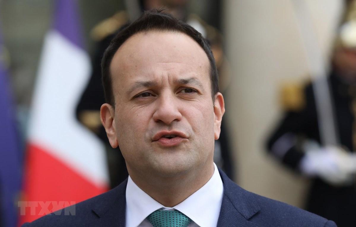 Thủ tướng Ireland Leo Varadkar. (Ảnh: AFP/TTXVN)