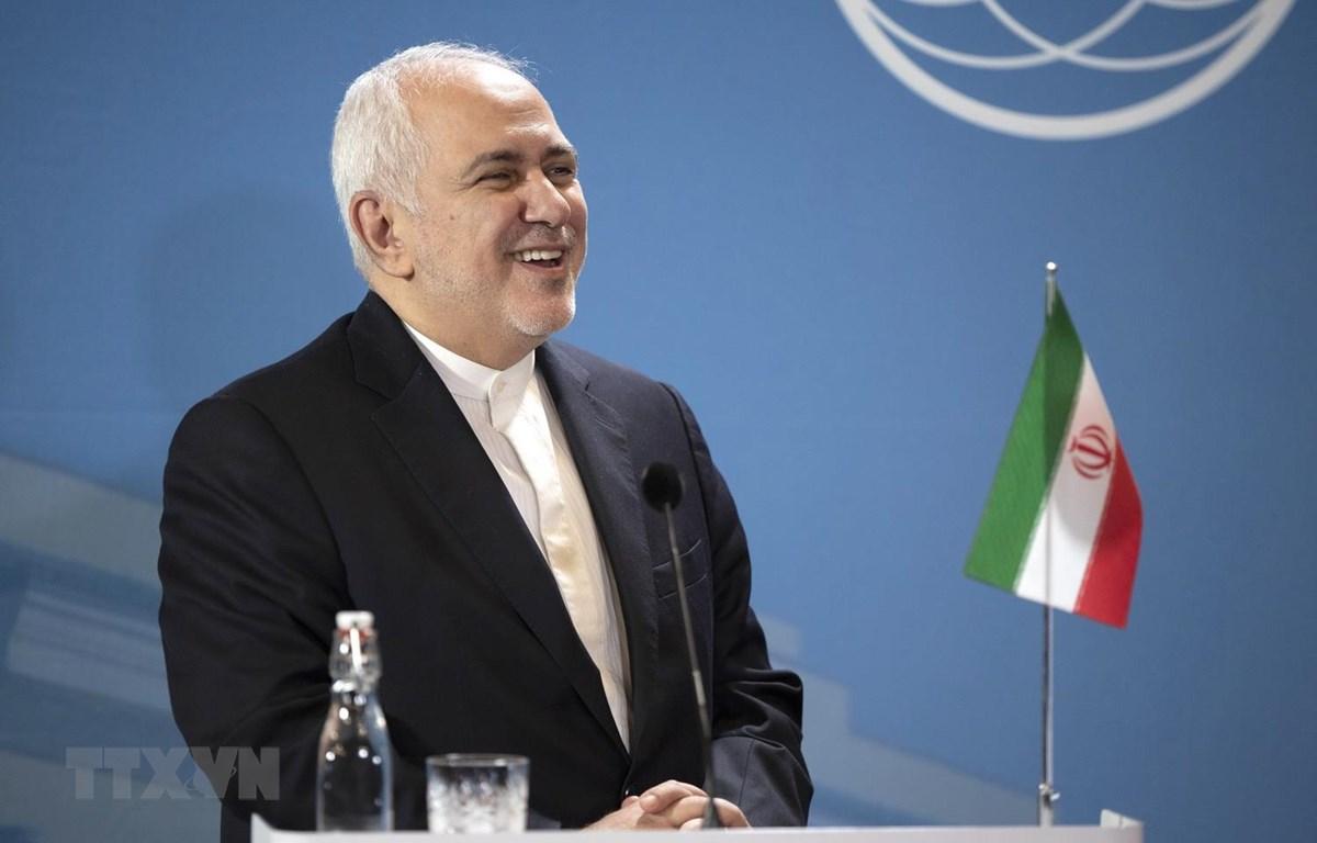 Ngoại trưởng Iran Mohammad Javad Zarif. (Ảnh: THX/TTXVN)