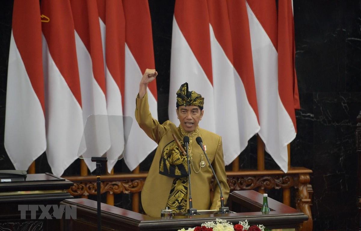 Tổng thống Indonesia Joko Widodo. (Ảnh: AFP/TTXVN)