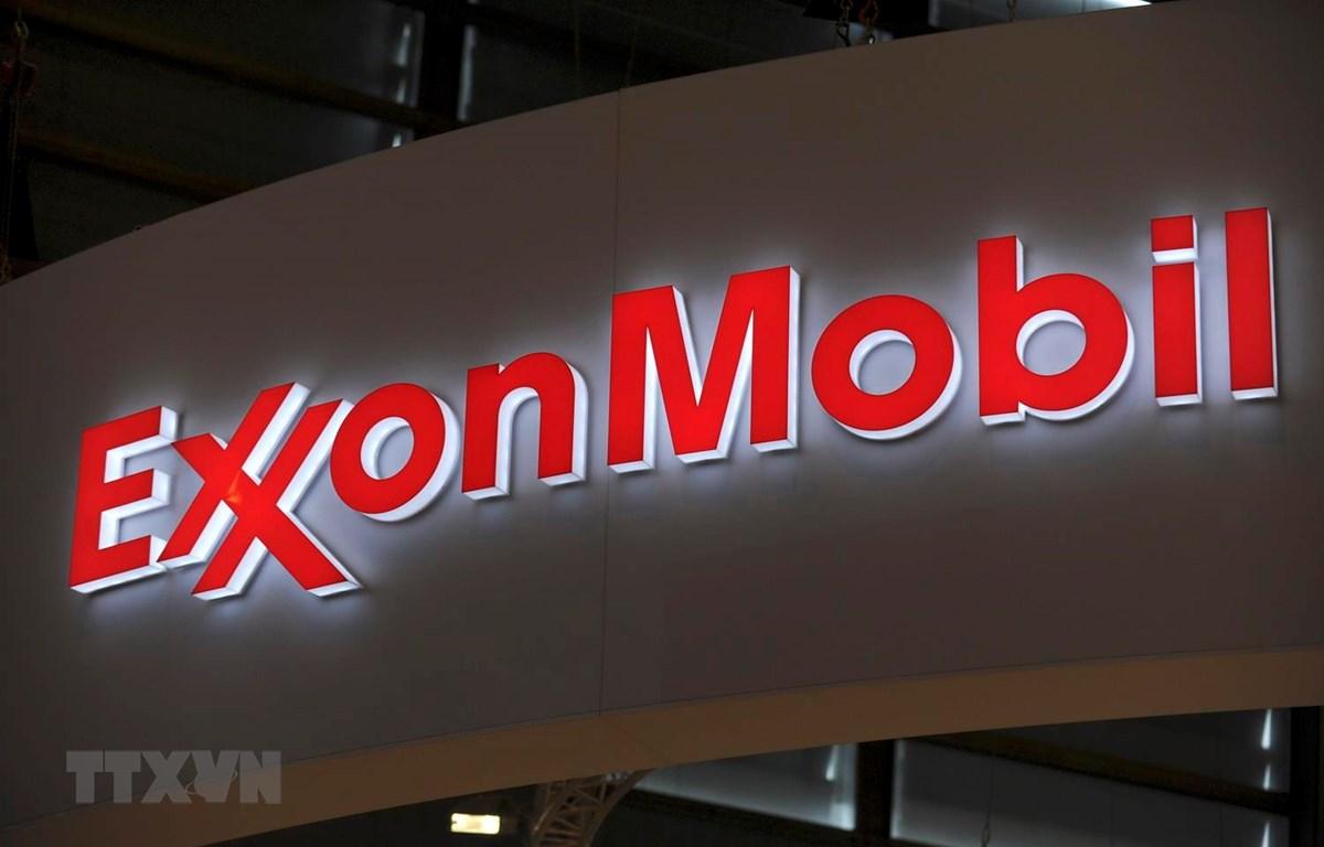 Biểu tượng ExxonMobil. (Ảnh: AFP/TTXVN)