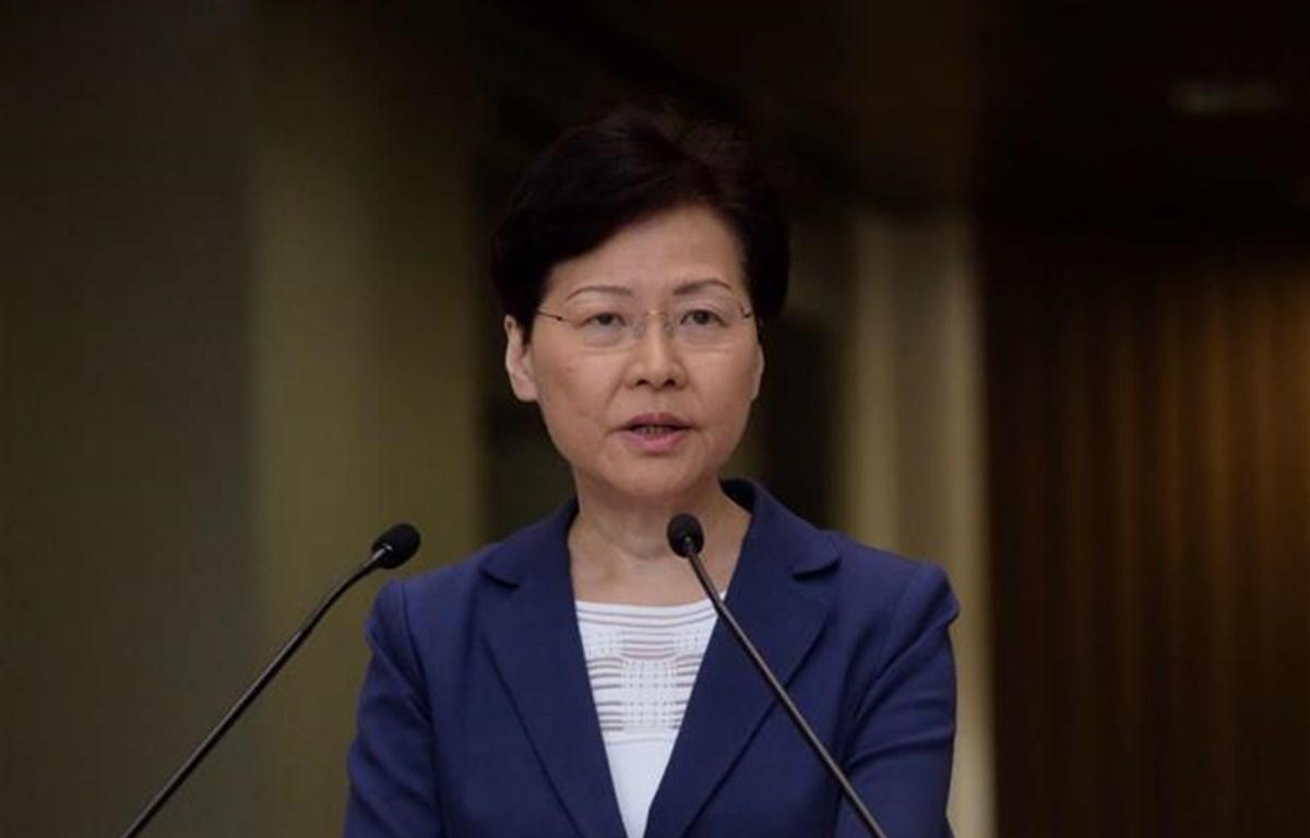 Lãnh đạo Hong Kong hy vọng giải quyết khủng hoảng thông qua đối thoại