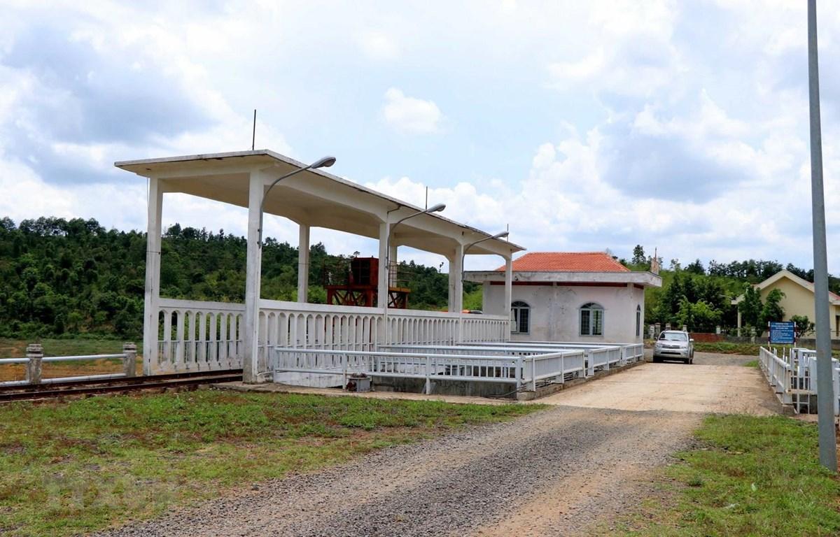 Công trình thủy lợi Đắk Rồ xã Đắk Đrô, huyện Krông Nô, tỉnh Đắk Nông. (Ảnh: Hưng Thịnh/TTXVN)
