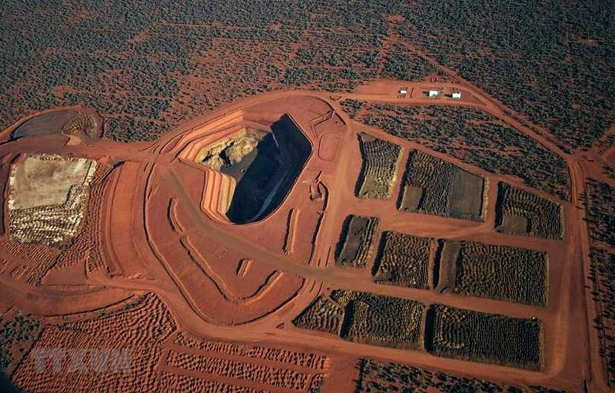 Một mỏ đất hiếm ở miền Tây Australia. (Ảnh: AFP/TTXVN)