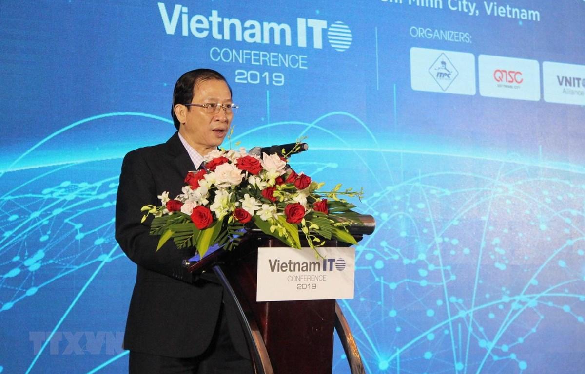 Ông Phạm Thiết Hòa, Giám đốc ITPC phát biểu khai mạc hội nghị. (Ảnh: Xuân Anh/TTXVN)