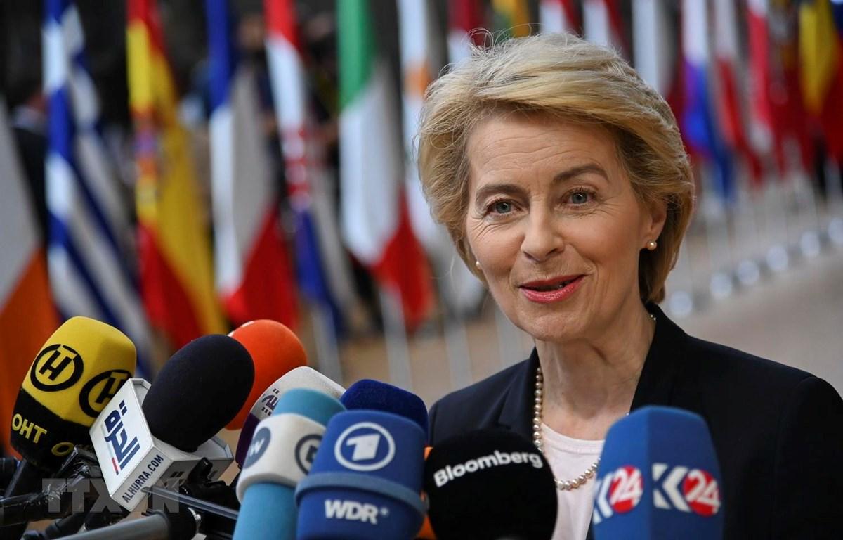 Chủ tịch Ủy ban châu Âu đắc cử Ursula von der Leyen. (Ảnh: THX/TTXVN)