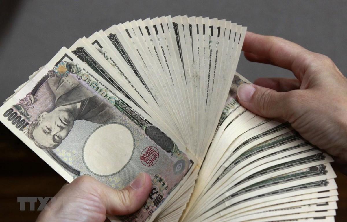 Đồng yen. (Ảnh: AFP/TTXVN)