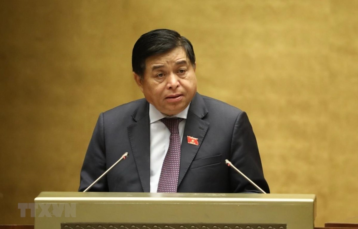 Bộ trưởng Bộ Kế hoạch và Đầu tư Nguyễn Chí Dũng. (Ảnh: Văn Điệp/TTXVN)