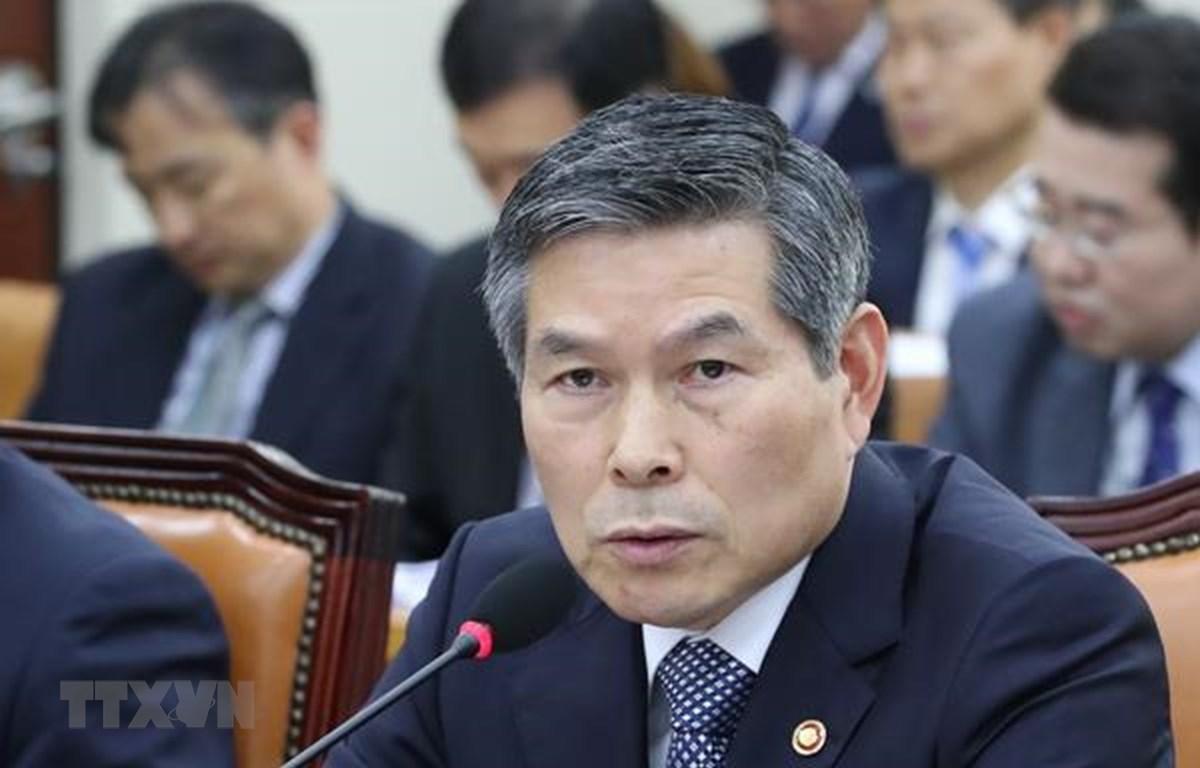 Bộ trưởng Quốc phòng Hàn Quốc Jeong Kyeong-doo. (Ảnh: Yonhap/TTXVN)