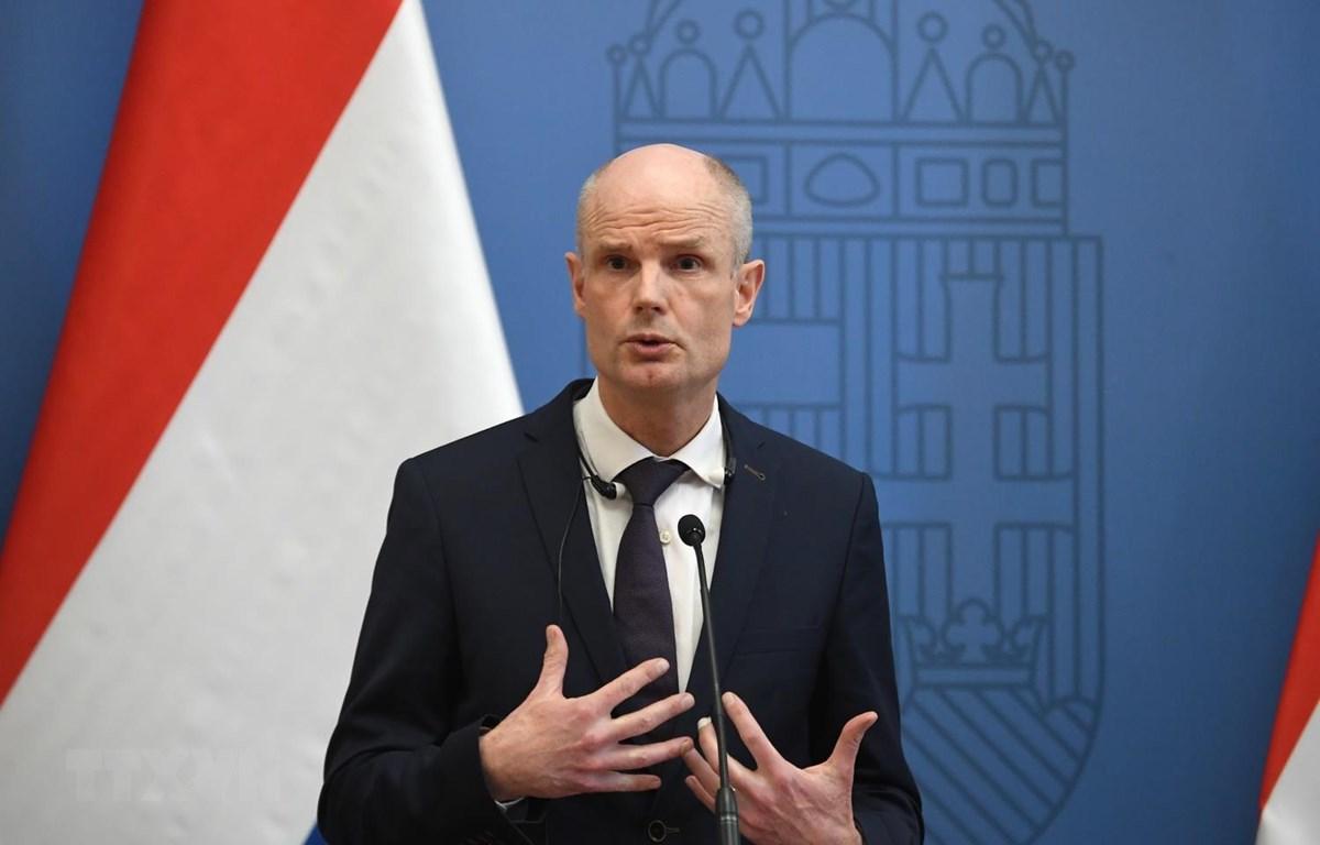 Ngoại trưởng Hà Lan Stef Blok. (Ảnh: AFP/TTXVN)