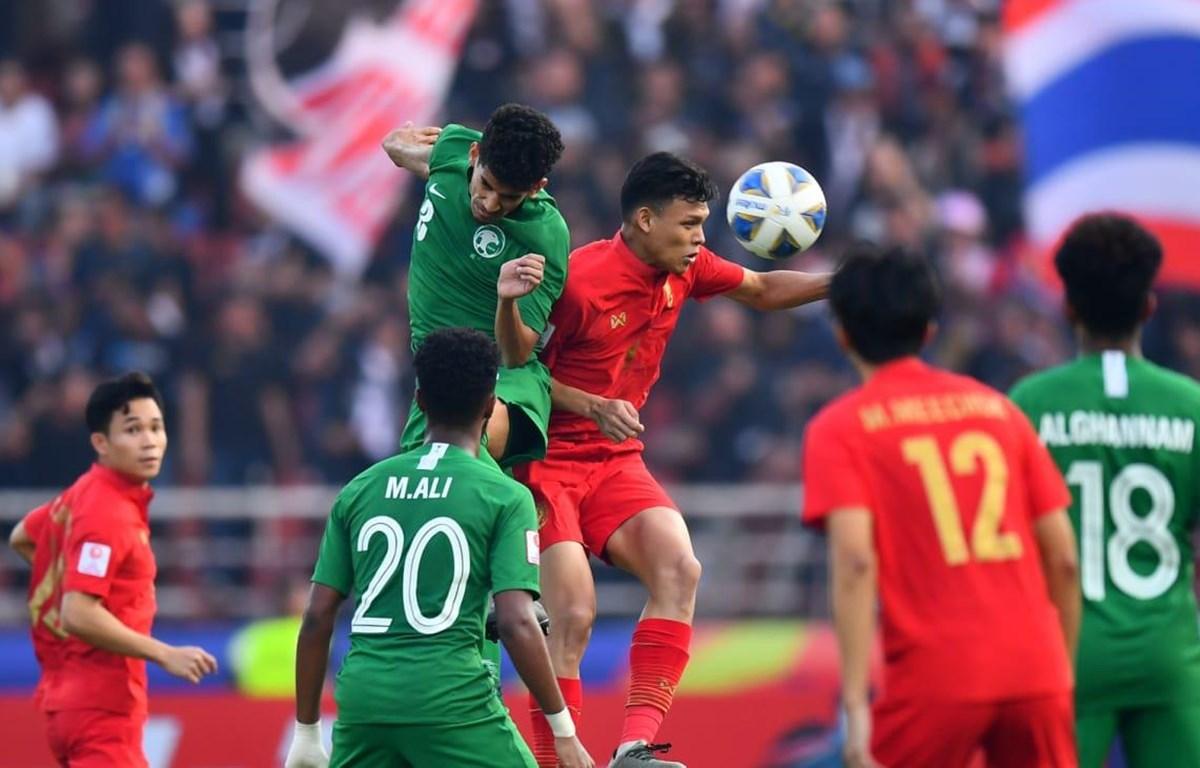 U23 Thái Lan (áo đỏ) dừng bước ở tứ kết. (Nguồn: AFC)