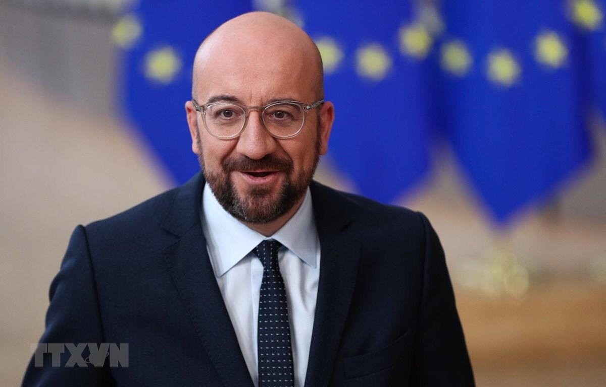 Chủ tịch Hội đồng châu Âu Charles Michel. (Ảnh: THX/TTXVN)