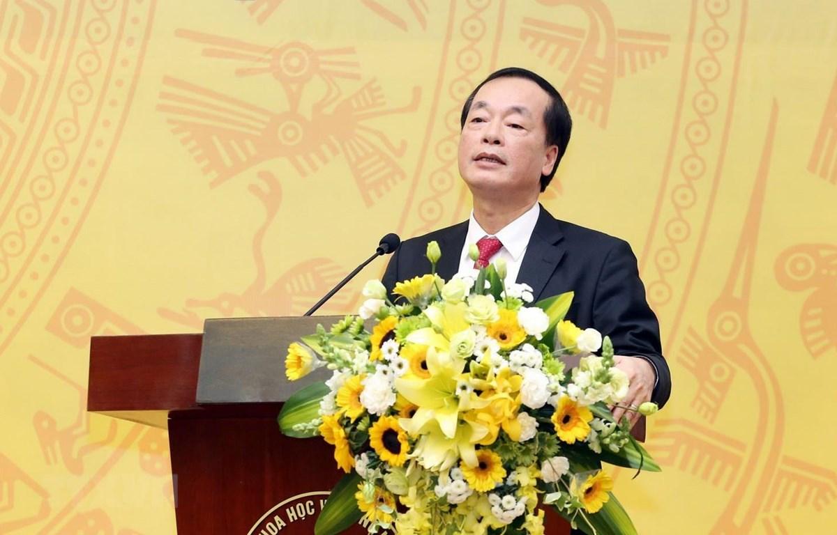 Bộ trưởng Bộ Xây dựng Phạm Hồng Hà. (Ảnh: Anh Tuấn/TTXVN)
