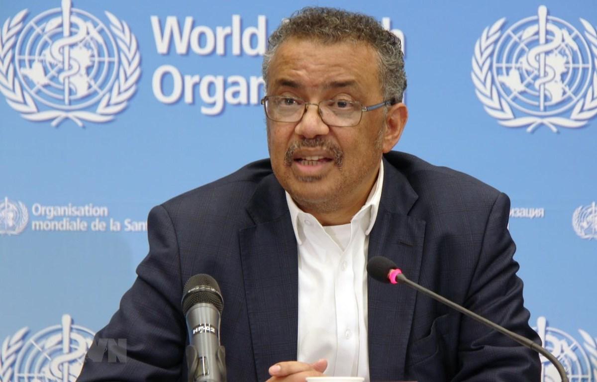 Tổng Giám đốc WHO Tedros Adhanom Ghebreyesus. (Ảnh: THX/TTXVN)