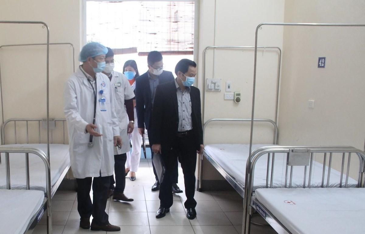 Sở Y tế tỉnh Phú Thọ kiểm tra công tác phòng chống dịch viêm đường hô hấp cấp do chủng mới của virus corona - COVID-19 (nCoV). (Nguồn: soyte.phutho.gov)