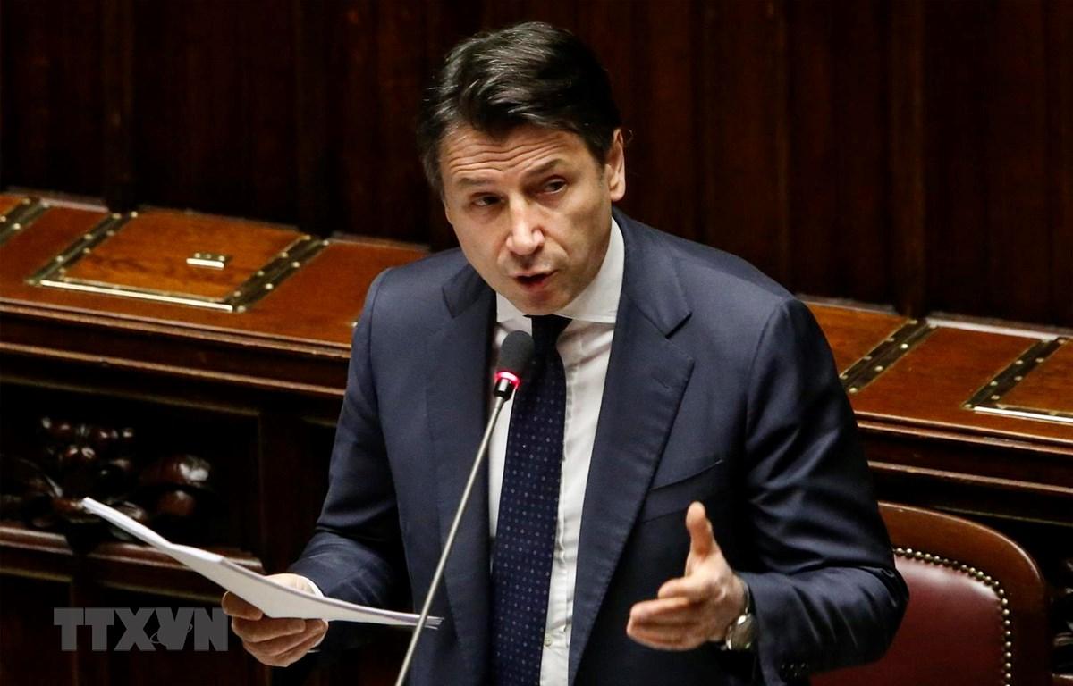 Thủ tướng Italy Giuseppe Conte. (Ảnh: AFP/TTXVN)