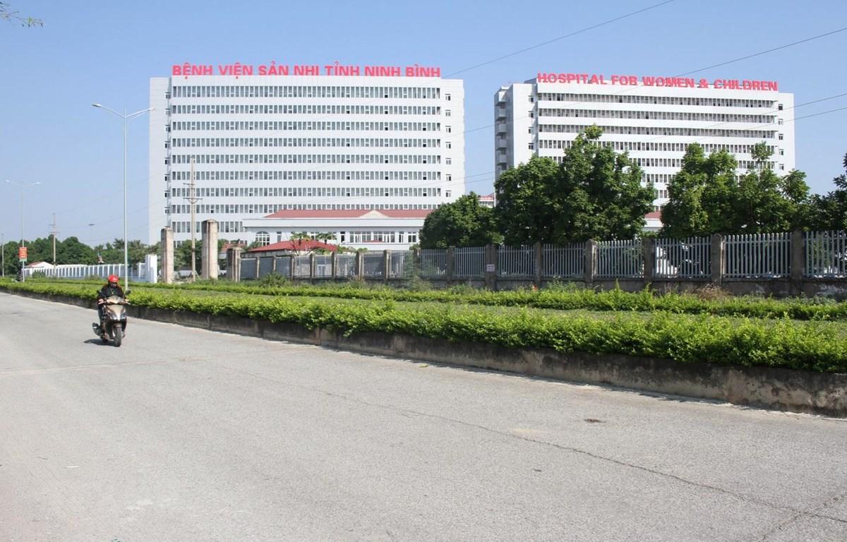 Dự án Bệnh viện sản nhi tỉnh Ninh Bình (hiện tỷ lệ giải ngân đạt 99,4% kế hoạch vốn) đang trong giai đoạn hoàn thành đưa vào sử dụng. (Ảnh: Thùy Dung/TTXVN)