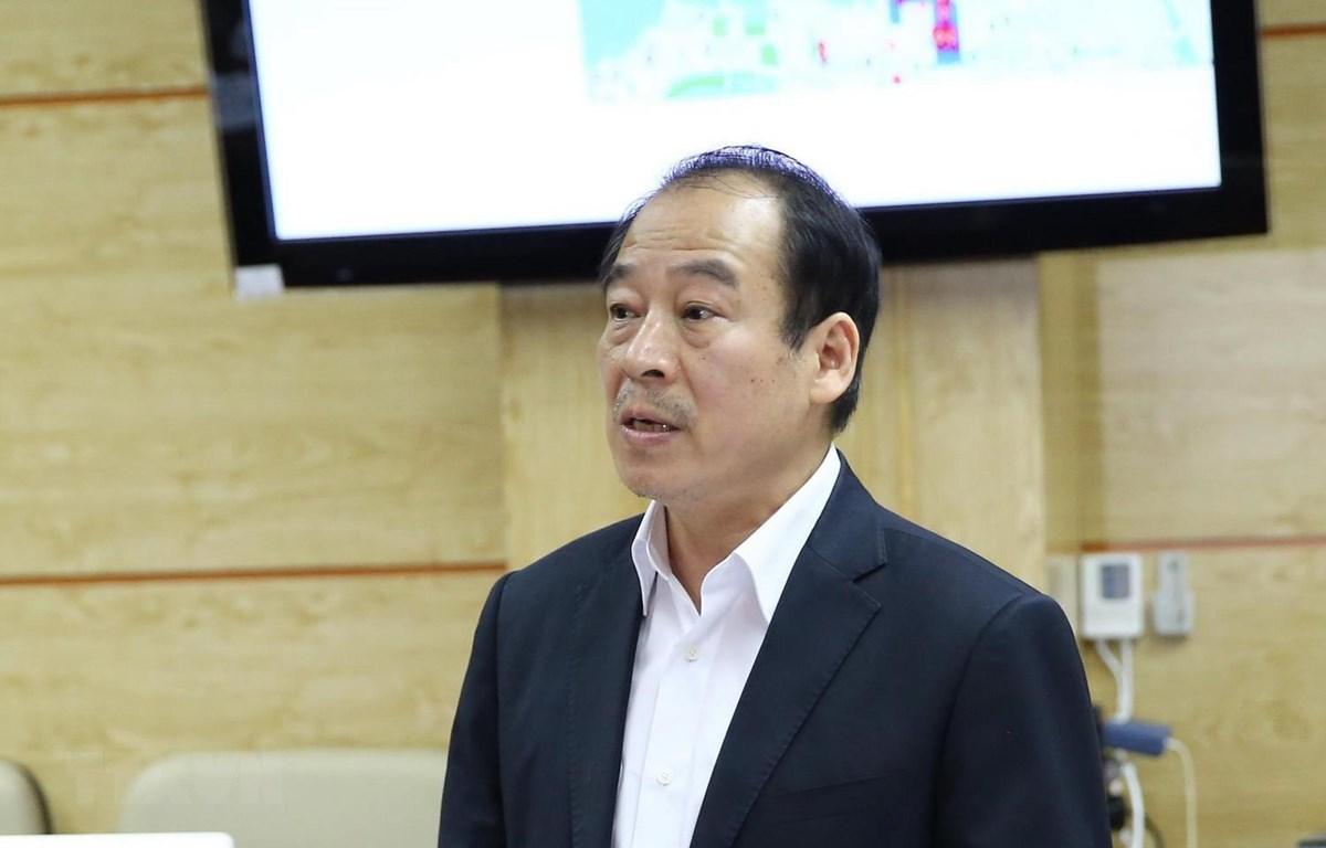 Phó Giáo sư, Tiến sỹ Trần Đắc Phu, Cố vấn Trung tâm Đáp ứng khẩn cấp sự kiện y tế cộng đồng Việt Nam. (Ảnh: TTXVN phát)