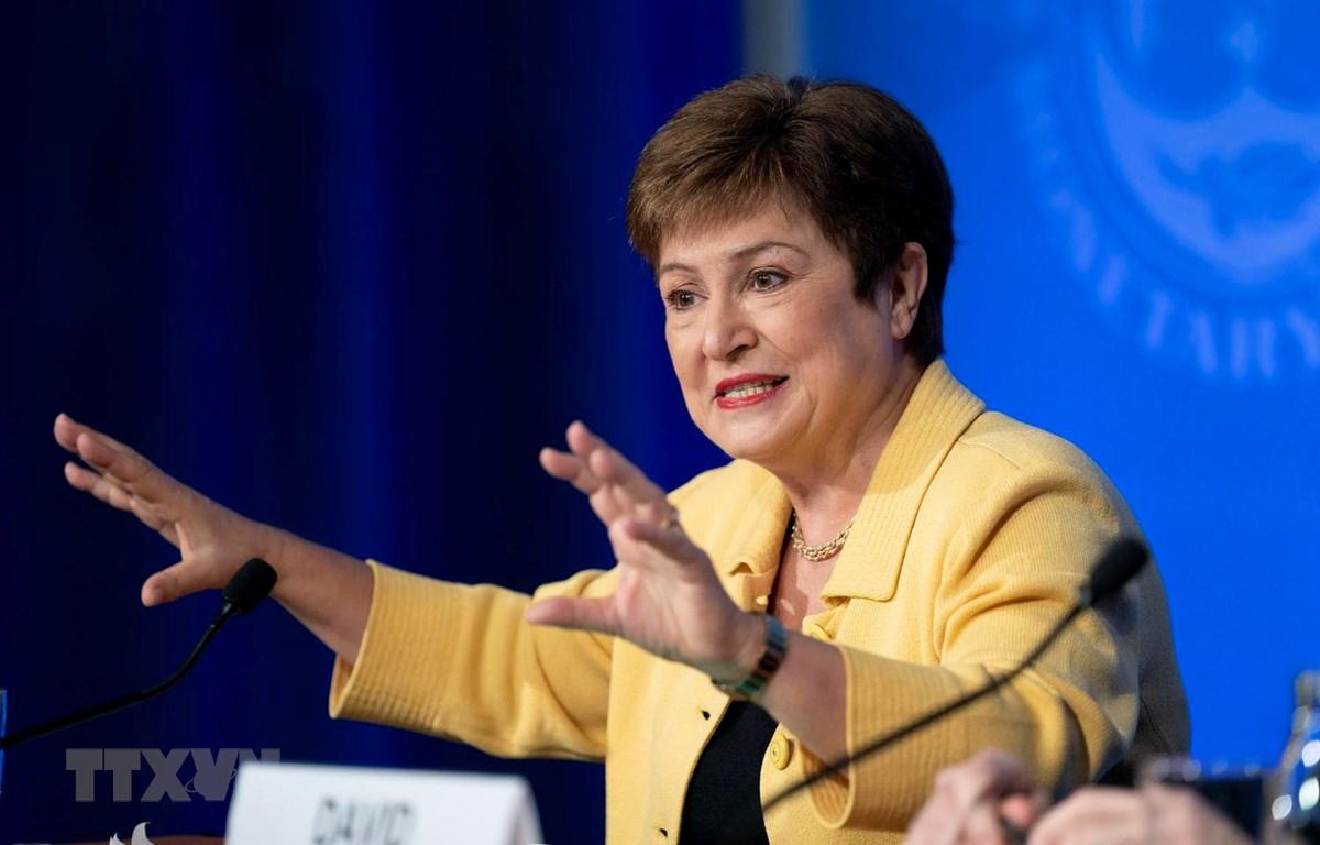 Tổng Giám đốc IMF Kristalina Georgieva. (Ảnh: THX/TTXVN)