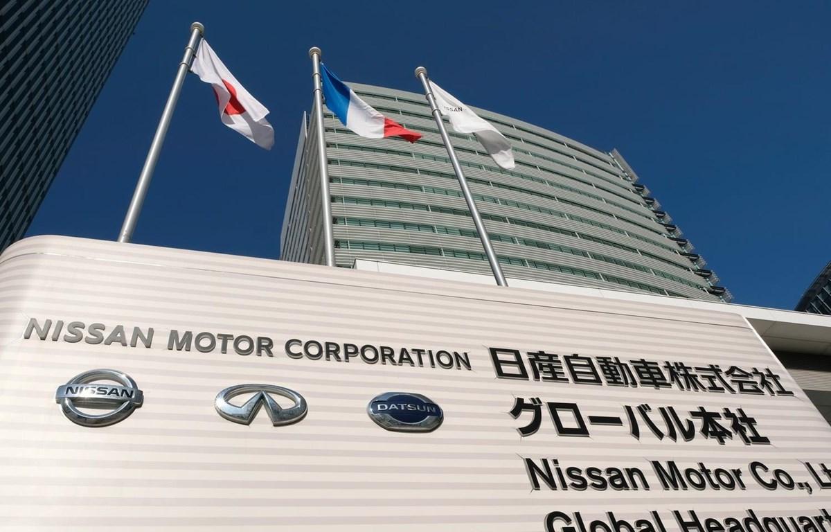 Trụ sở Tập đoàn sản xuất ôtô Nhật Bản Nissan ở Yokohama. (Ảnh: AFP/TTXVN)