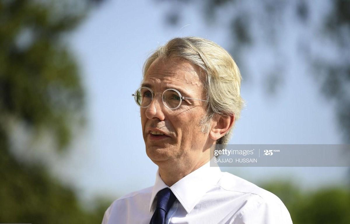 Đại sứ Pháp tại Ấn Độ Emmanuel Lenain. (Nguồn: Getty Images)