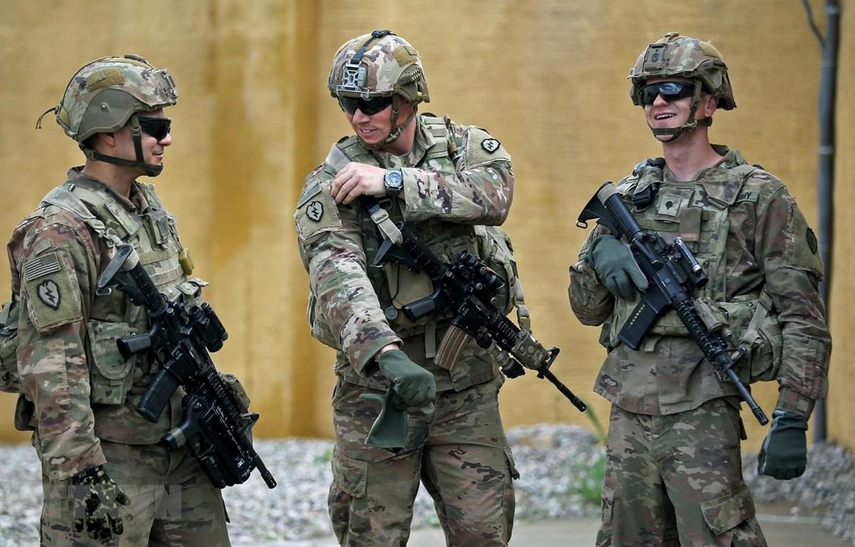 Binh sỹ Mỹ. (Ảnh: AFP/TTXVN)