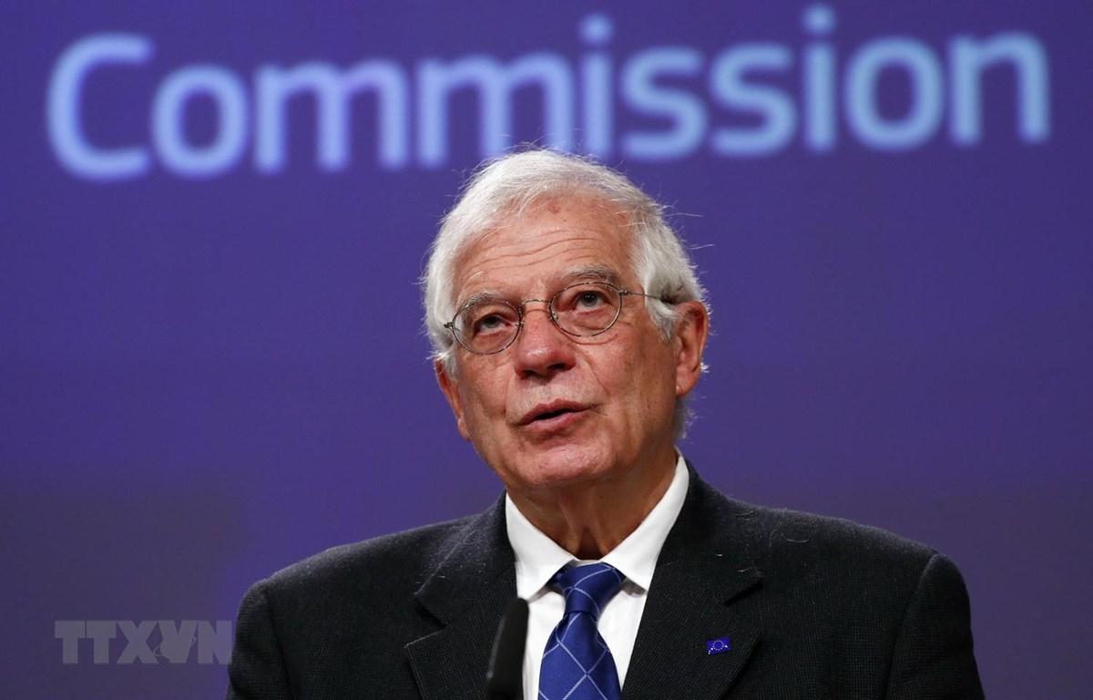 Đại diện cấp cao phụ trách chính sách an ninh và đối ngoại EU Josep Borrell. (Ảnh: AFP/TTXVN)