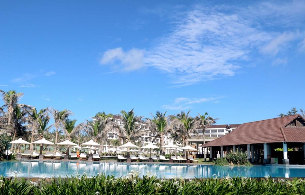 Mũi Né Bay Resort, một trong những doanh nghiệp du lịch tham gia mạnh mẽ vào chương trình kích cầu du lịch tại Bình Thuận. (Ảnh: Nguyễn Thanh/TTXVN)