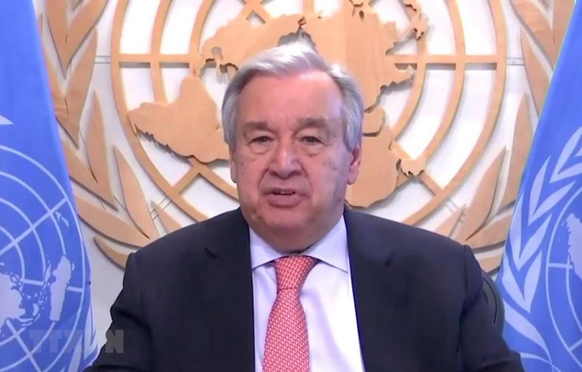 Tổng thư ký Liên hợp quốc Antonio Guterres. (Ảnh: THX/TTXVN)