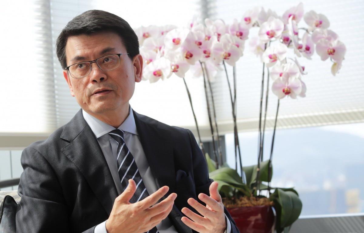 Người đứng đầu Cục Thương mại và Phát triển Kinh tế Khu hành chính đặc biệt Hong Kong (Trung Quốc) Khâu Đằng Hoa. (Nguồn: scmp.com)