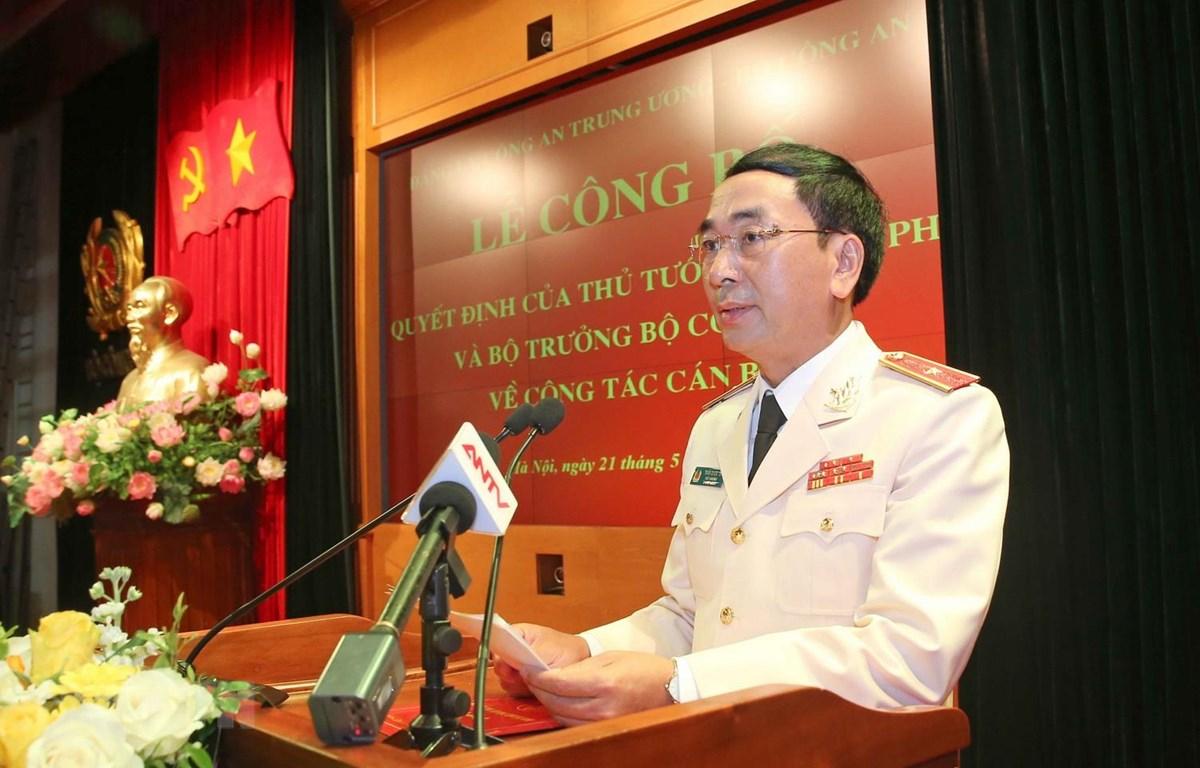 Ông Trần Quốc Tỏ, Bí thư Tỉnh ủy, Trưởng Đoàn đại biểu Quốc hội tỉnh Thái Nguyên. (Ảnh: Thu Hằng/TTXVN)
