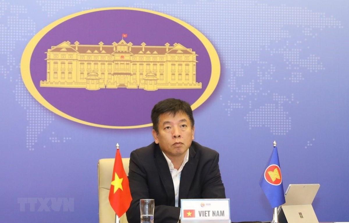 Vụ trưởng Vụ ASEAN Bộ Ngoại giao Vũ Hồ. (Ảnh: Văn Điệp/TTXVN)