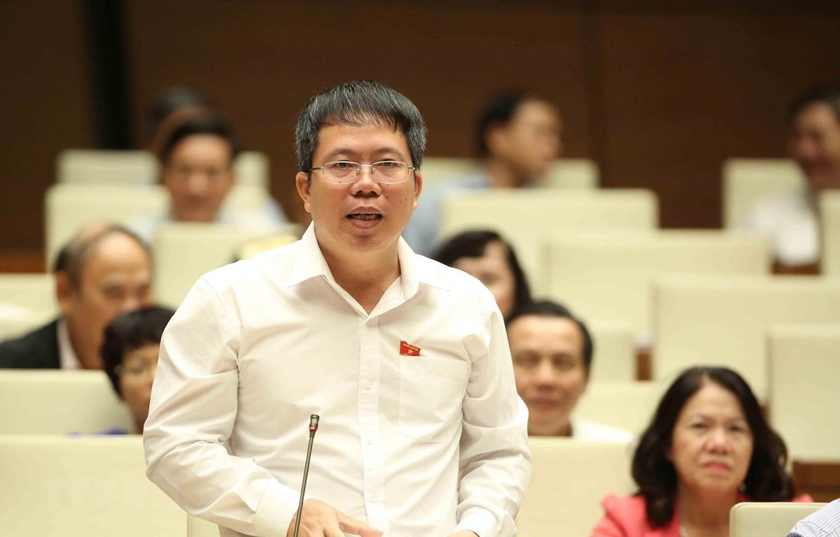 Ông Nguyễn Văn Hiển, đại biểu Quốc hội tỉnh Lâm Đồng. (Ảnh: TTXVN)