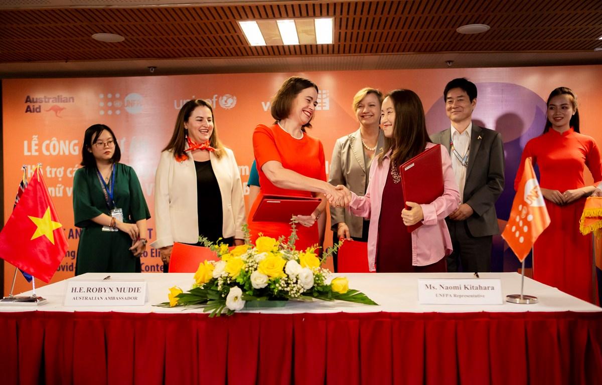 Ký kết khởi động dự án xóa bỏ bạo lực đối với phụ nữ và trẻ em ở Việt Nam