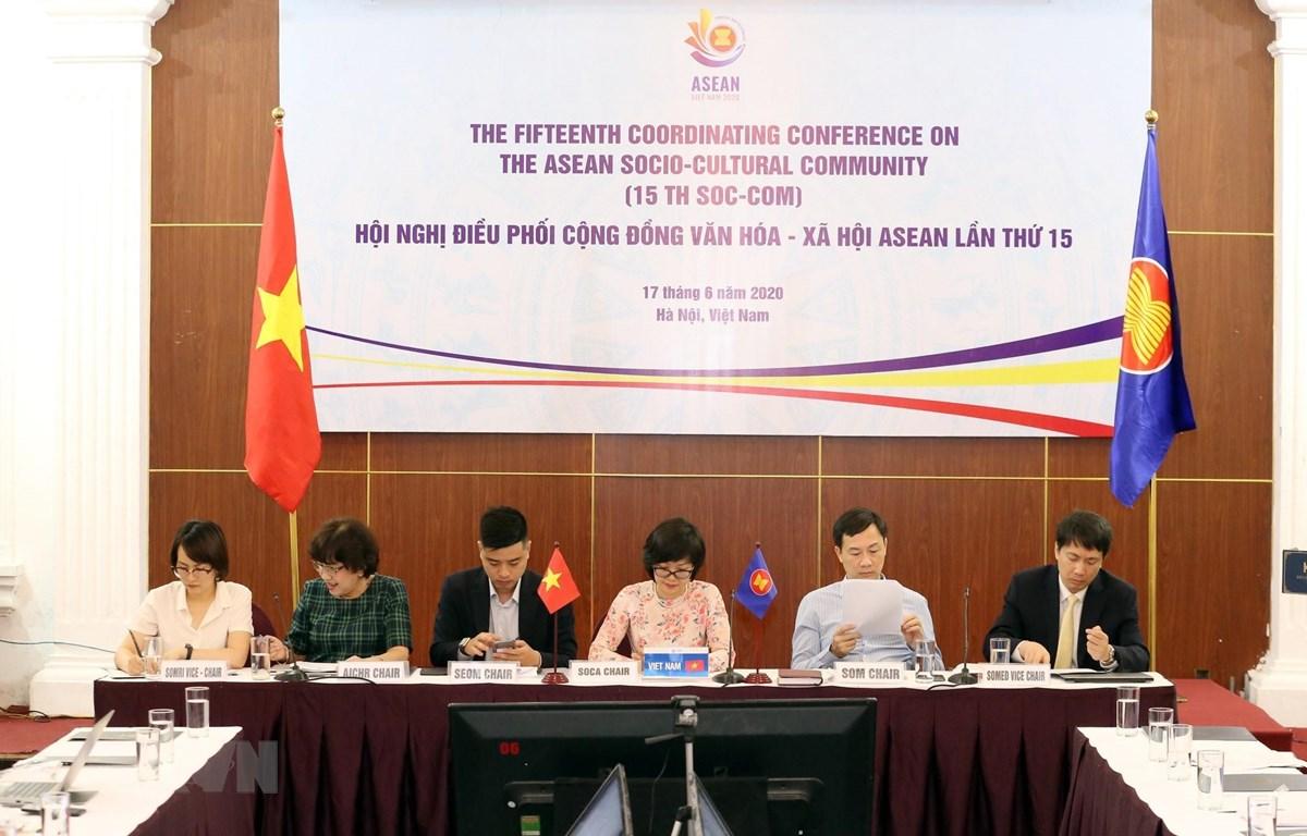 Hội nghị Điều phối Cộng đồng Văn hóa - Xã hội ASEAN lần thứ 15. (Ảnh: Anh Tuấn/TTXVN)