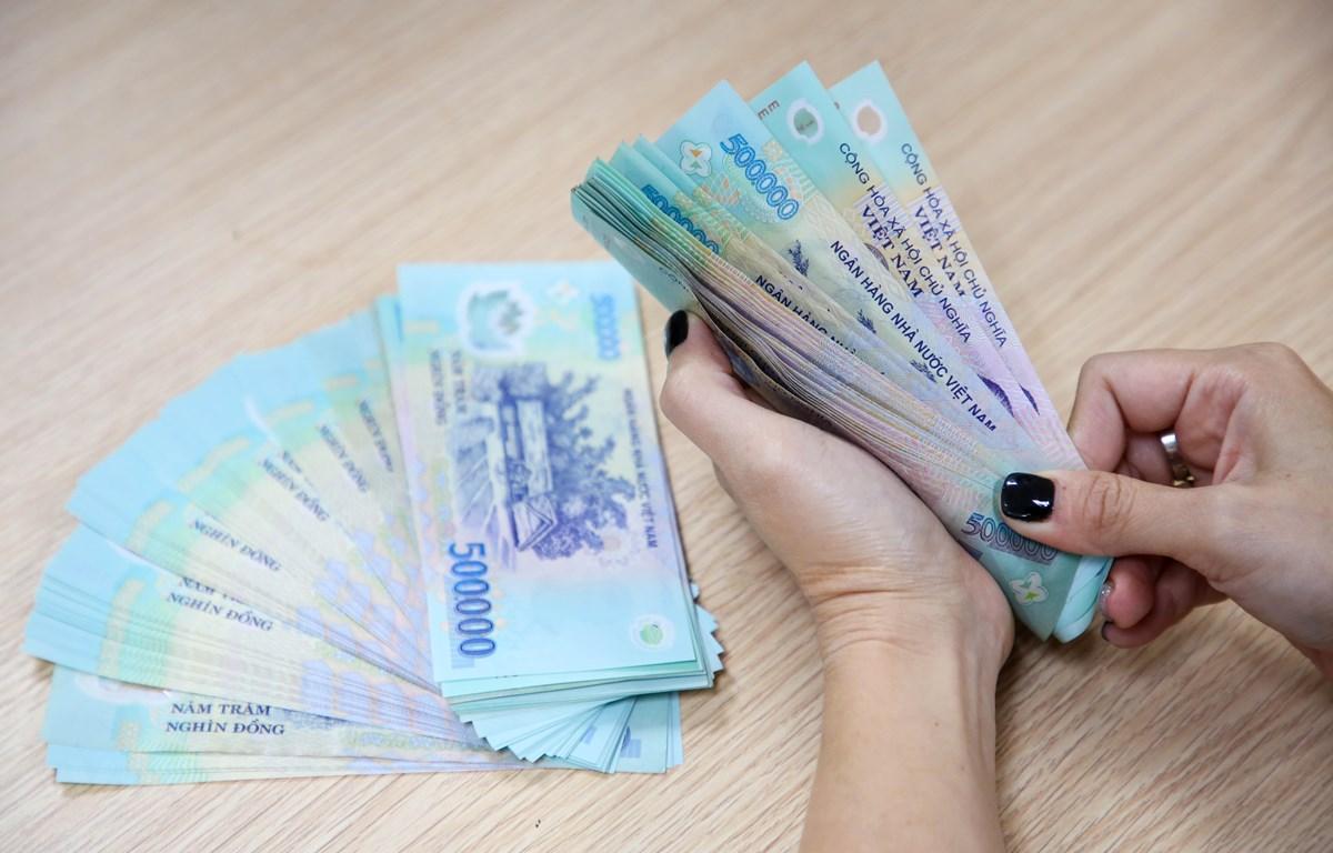Tiền lương tôi thiểu vùng năm 2021 sẽ không tăng. (Ảnh minh hoạ; PV/VIetnam+)