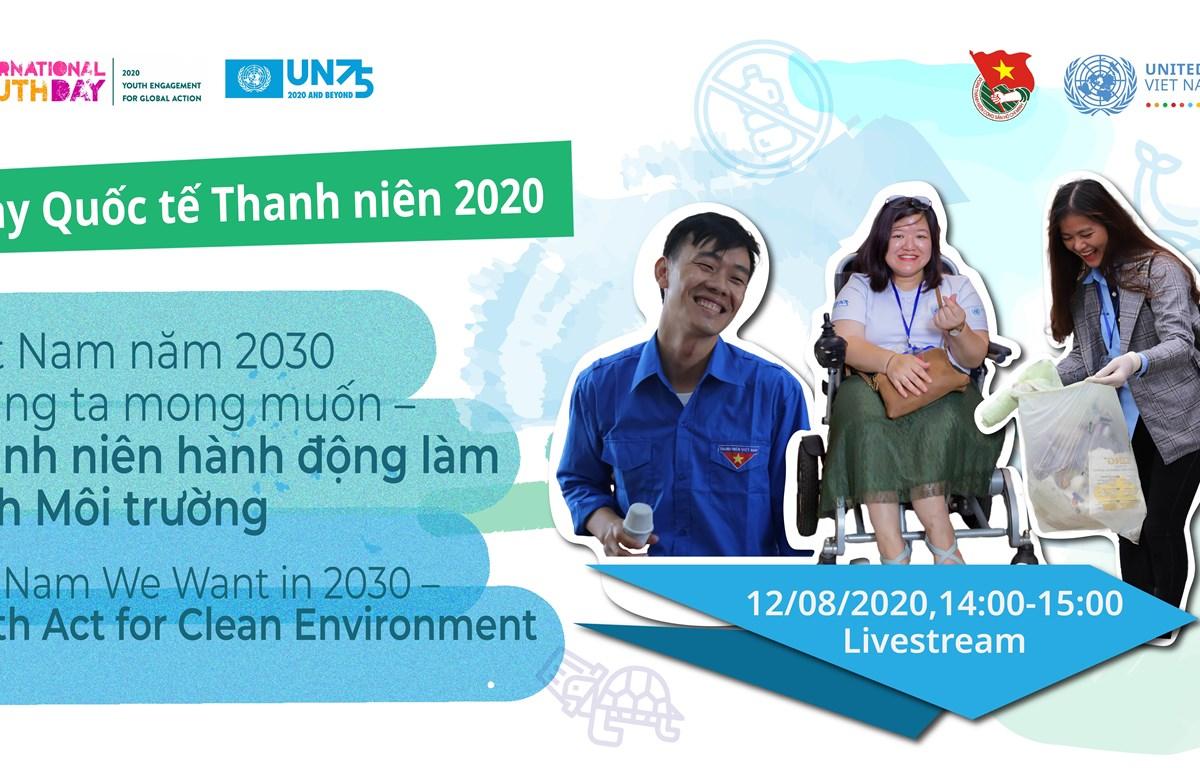 Các vấn đề liên quan đến môi trường hiện đang là một trong những mối quan tâm hàng đầu của giới trẻ Việt Nam. (Ảnh: PV/Vietnam+)