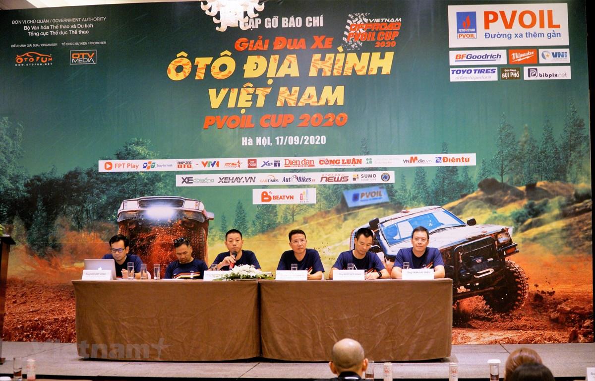 Giải đua xe ô tô địa hình Việt Nam lần thứ 12. (Ảnh: Minh Hiếu/Vietnam+)