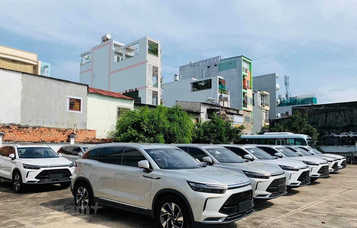 Xe hơi Trung Quốc đang tạo 'cơn sốt' tại thị trường Việt Nam. (Ảnh: PV/Vietnam+)