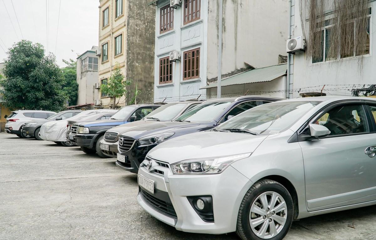 Mua xe qua sử dụng đang là xu hướng của nhiều người dùng hiện nay. (Ảnh: Minh Hiếu/Vietnam+)