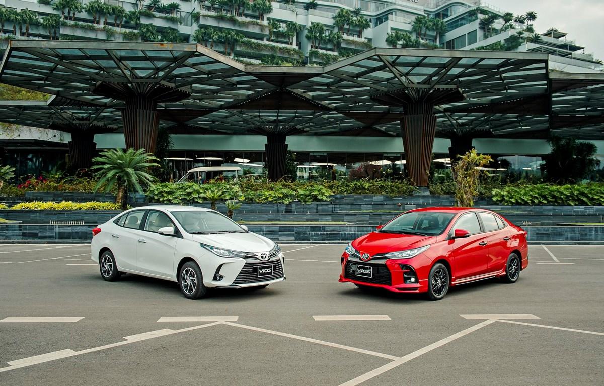 Mẫu xe Toyota Vios vừa mới trình làng thị trường Việt với 2 phiên bản. (Ảnh: TMV)