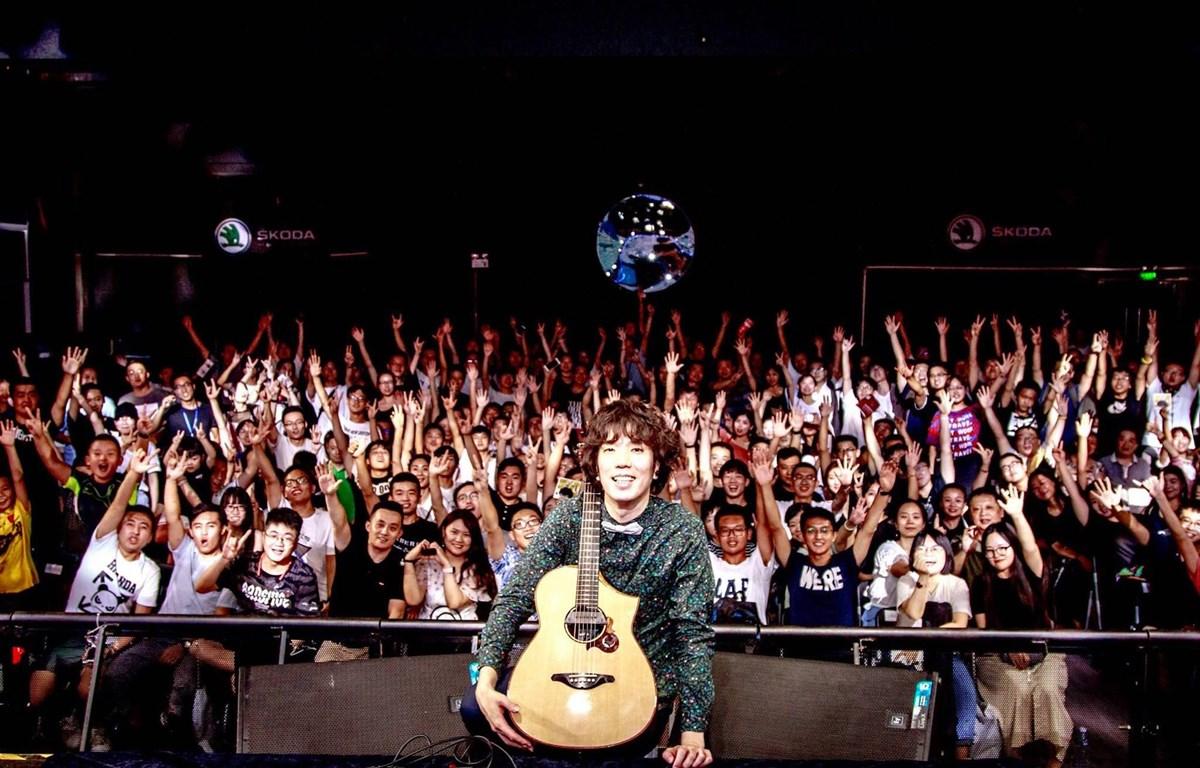 Thời gian gần đây, Satoshi Gogo liên tục có những chuyến lưu diễn tới nhiều quốc gia, vùng lãnh thổ trên thế giới. (Ảnh: CTV)
