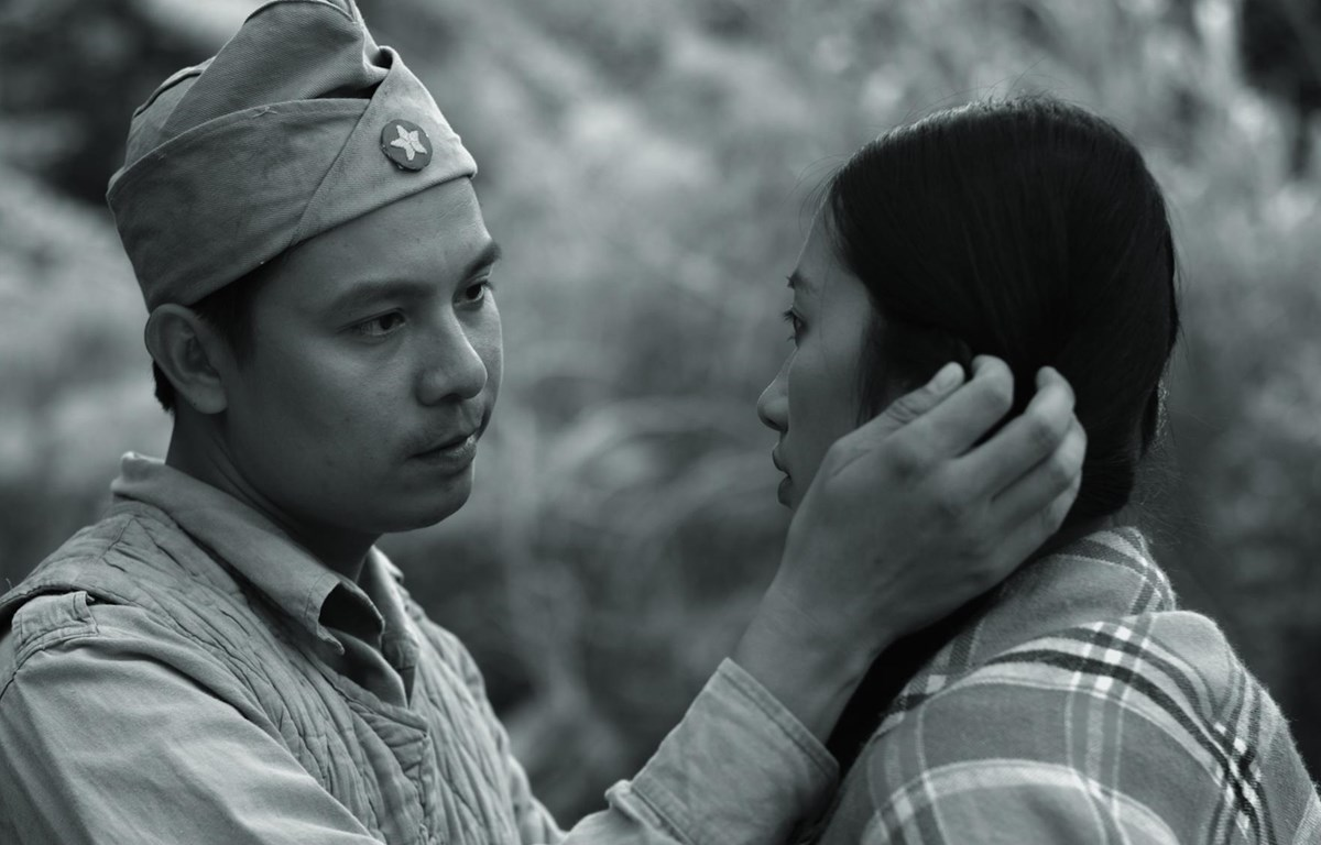 """Phim """"Biên cương"""" ngợi ca hình tượng chiến sỹ bộ đội biên phòng. (Ảnh: ĐLP)"""