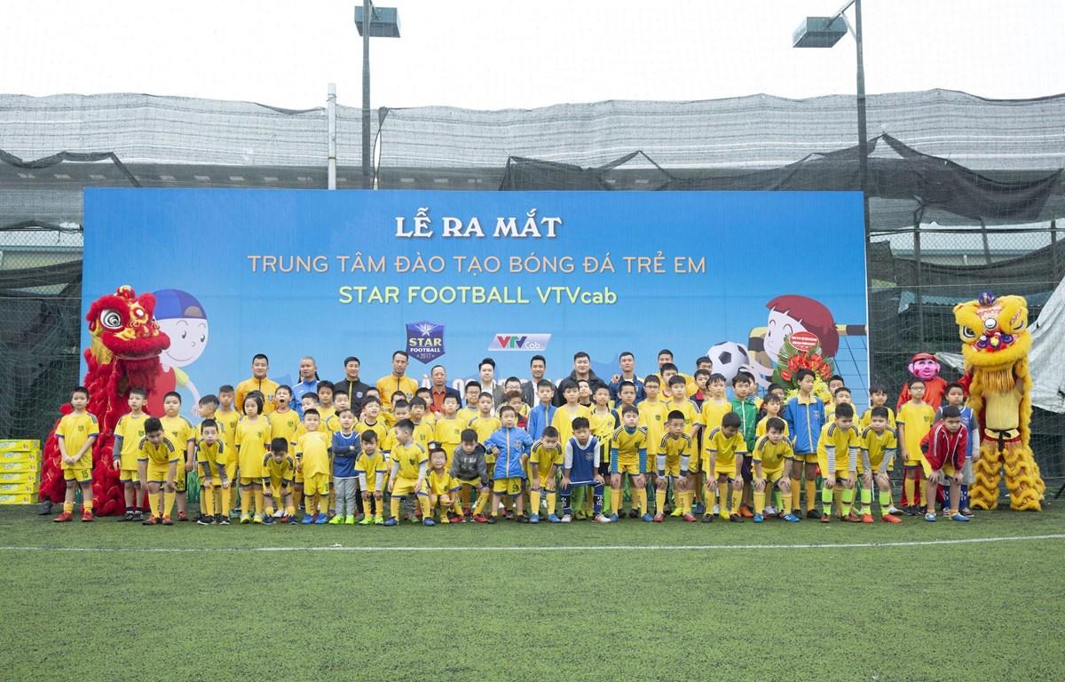Trung tâm là sân chơi cho trẻ em yêu thích, đam mê bóng đá ở Hà Nội. (Ảnh: Hoàng Hà/Vietnam+)