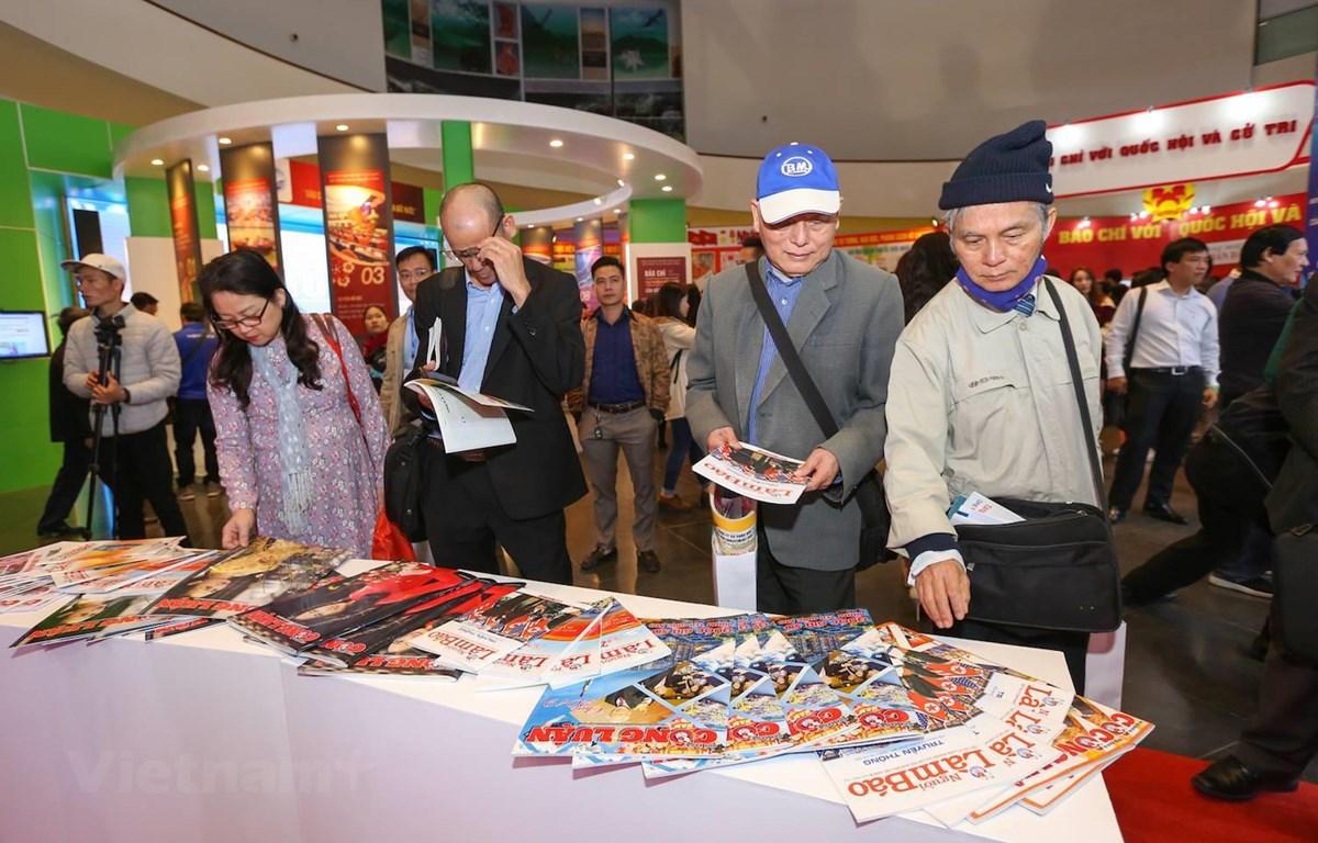 Hôi thảo được tổ chức trong khuôn khổ Hội báo toàn quốc (diễn ra từ ngày 15-17/3 tại Hà Nội). (Ảnh: Vietnam+)