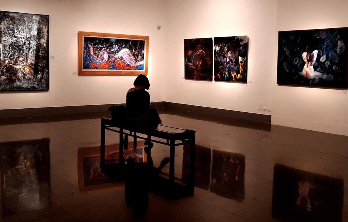 Triển lãm kéo dài đến hết ngày 31/2 tại Hà Nội. (Ảnh: CTV)