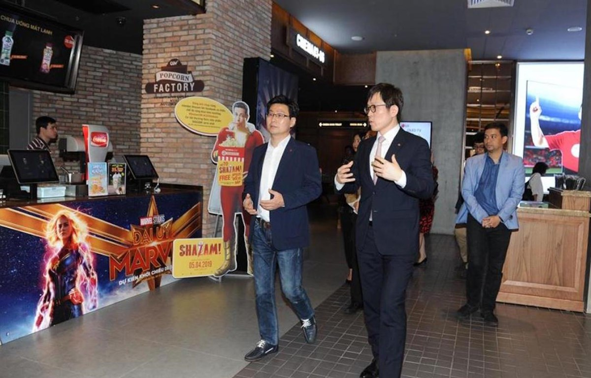 LG và CGV cam kết cùng thực hiện các hoạt động nhằm nâng cao chất lượng đời sống tinh thần cho người tiêu dùng Việt Nam. (Ảnh: BTC)